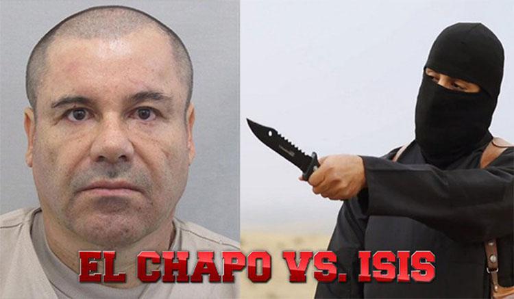 el chapo wypowiada wojnę ISIS