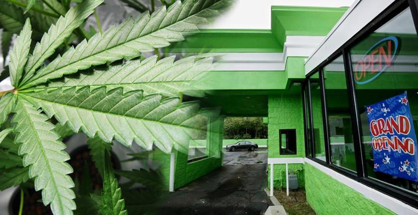 Drive thru marihuana