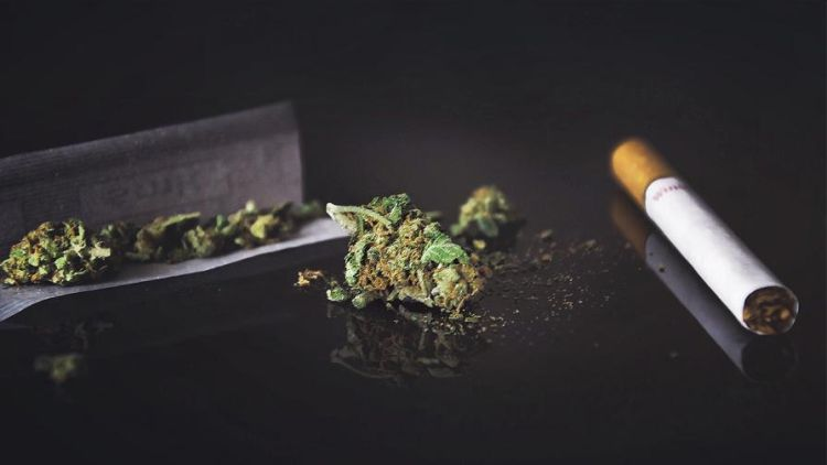 Palenie marihuany i palenie papierosów