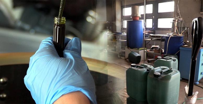 Produkowali olej RSO w laboratorium