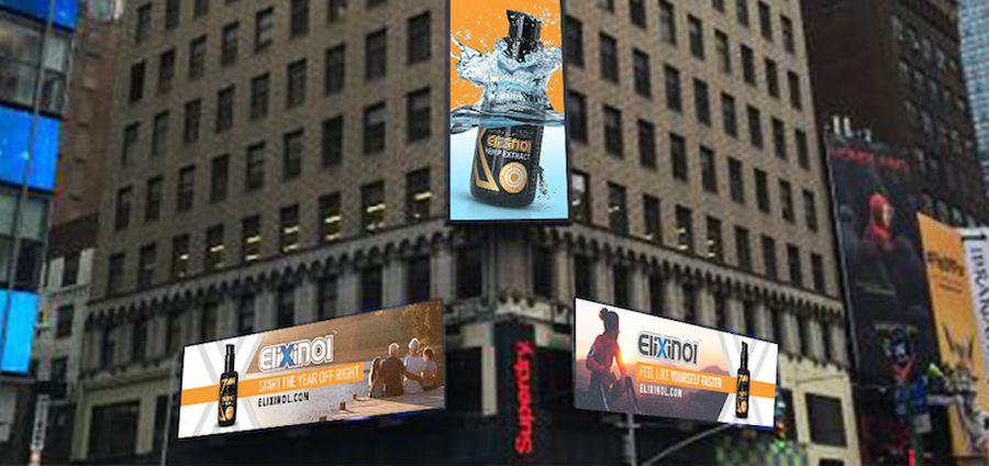 Pierwsza w historii reklama konopi na Times Square