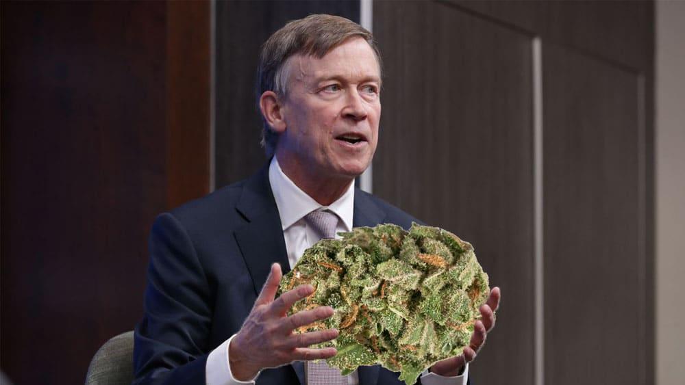 Gubernator Kolorado o legalizacji marihuany - nie zwiększa spożycia konopi wśród nastolatków