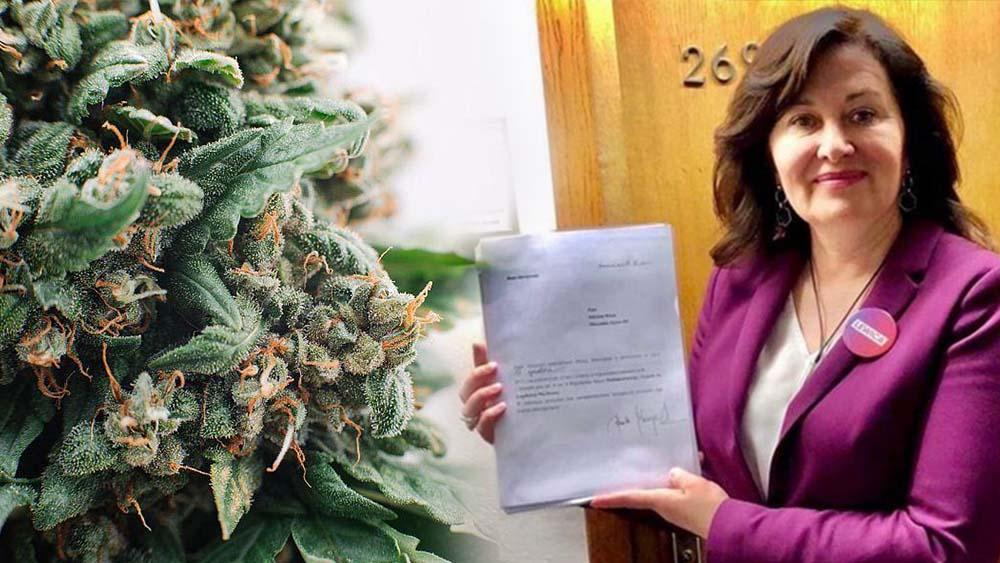 Beata Maciejewska złożyła wniosek o powołanie komisji ds. legalizacji marihuany