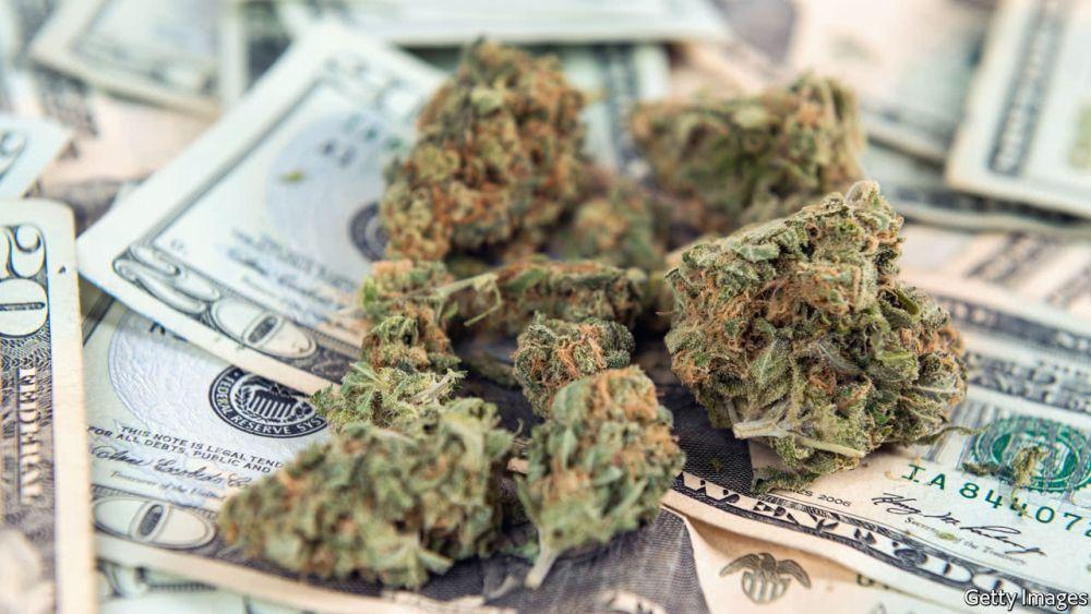 Kalifornia zebrała miliard dolarów z podatków od sprzedaży marihuany